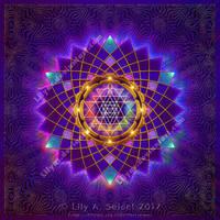 Sri Yantra Mandala by Lilyas