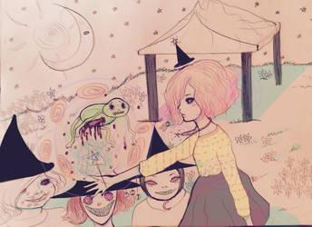 Witch Garden by TobeToba