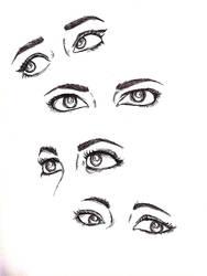 Eye study  by akagen