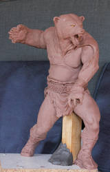 Harrek the Berserk by Moirades