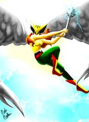 Hawkgirl by MajinNeda