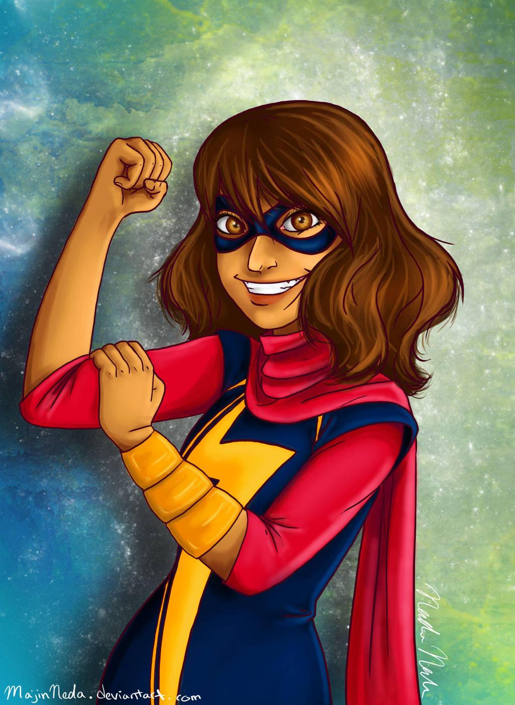 Kamala Khan-Ms. Marvel by MajinNeda on DeviantArt