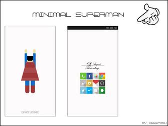 Minimal Superman by deep3sh