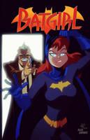 Batgirl after Alex Garner by RickCelis