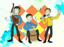 Star Trek Jam Session by taconaco