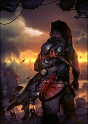 The Bionic commando by arcipello