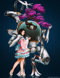 The Bonsai Bot by arcipello