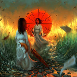 Holding back the flood by arcipello