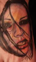 zombie geisha by LunalottiRay