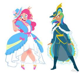 CoronationDresses by HarpyMarx