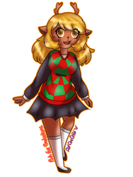Noelle (Deltarune) by 0PinkFoxProductions