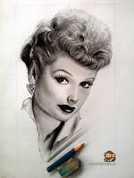Lucille Ball by Ankredible