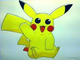 Week Zero - Pikachu by Ankredible