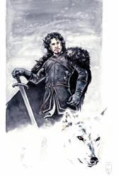 Jon Snow by fsgu