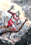 Ultraman by fsgu