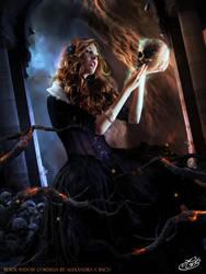 Black Widow Cordelia by AlexandraVBach