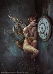 Le Cabinet de Curiosites - Clockwork Fairy by AlexandraVBach