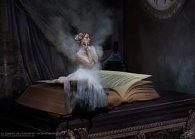 Le Cabinet de Curiosites - Sepia Morphine by AlexandraVBach