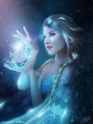 Elsa - Frozen by AlexandraVBach