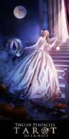 Tarot de la Nuit - Two of Pentacles by AlexandraVBach