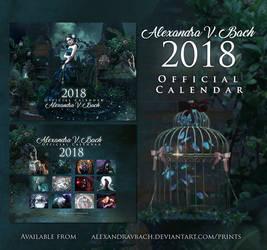 Alexandra V.Bach 2018 Calendar by AlexandraVBach