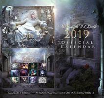 Alexandra V.Bach 2019 Calendar by AlexandraVBach