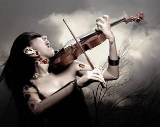 My Metallic Sonata by AlexandraVBach
