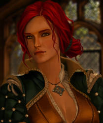 Triss Merigold by Vulpes94