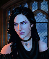 Yennefer by Vulpes94