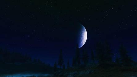 The Moon by IIAnnaBananaII