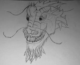 Chinese Dragon by IIAnnaBananaII