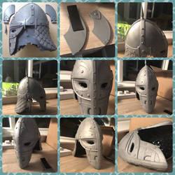 Skyrim Guards helmet  by IIAnnaBananaII