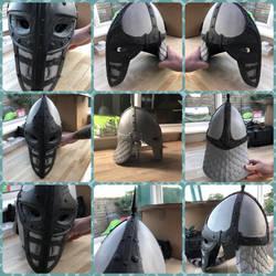 Skyrim guards helmet v2  by IIAnnaBananaII