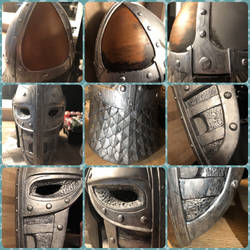 Skyrim Guards helmet v4 by IIAnnaBananaII