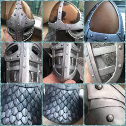 Skyrim guards helmet  v5 by IIAnnaBananaII
