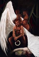 I want to be angel by Darey-Dawn