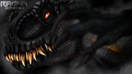 Indoraptor by RagnaDesign