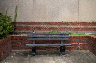 Lonely Bench by huang