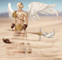 Warrior Angel by jarnac