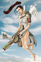 She warrior angel by jarnac