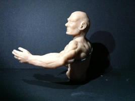 Primer busto Super Sculpey by jarnac