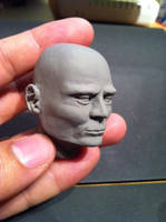 Cabeza Super Sculpey Firm by jarnac