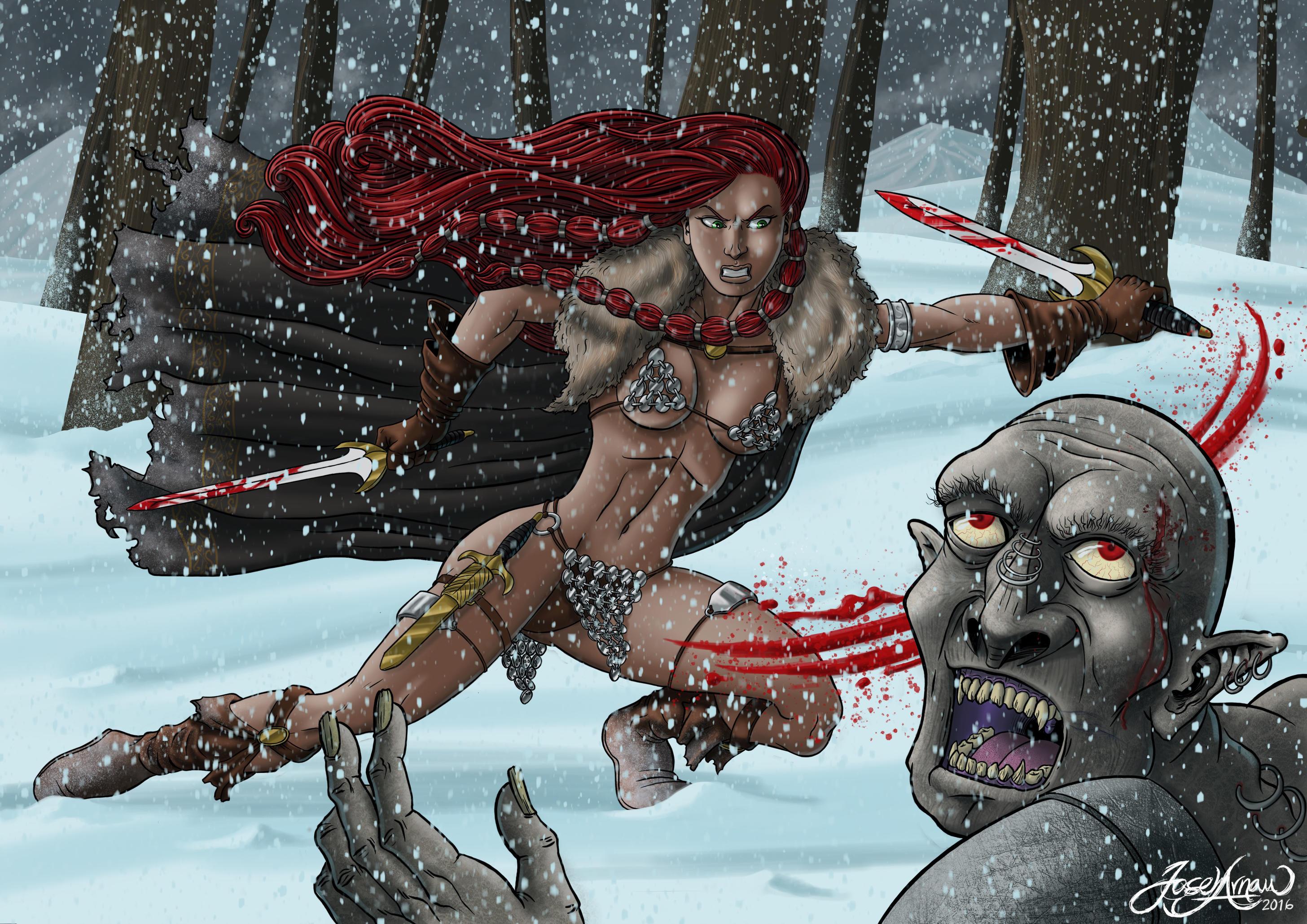 Red Sonja by jarnac