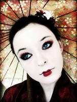 Geisha Portrait by RavenxCorpse