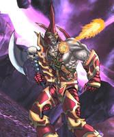 Warcraft Fan Art 2 colour by M-Hydra