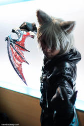 Neko-Data-Riku w/ Soul Eater @ Frostcon 2013 by M-Hydra