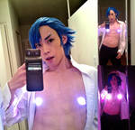 Aikuro Mikisugi Costest and Practical SFX Test by M-Hydra