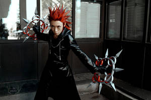 Kingdom Hearts' Axel with Twin Chakrams #2 by M-Hydra