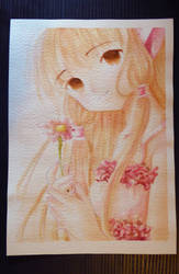 Watercolor: Chi by Panelletdelimon