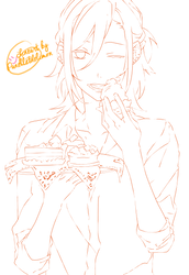 Lineart: Miyamura - Horimiya by Panelletdelimon
